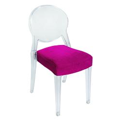 Chaise CARAT velours