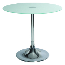 Table FLASHY verre ø80