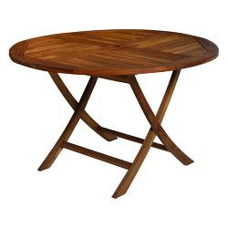 Table TECK Ø90