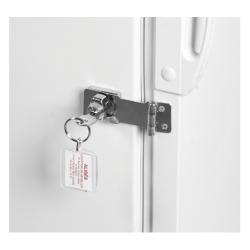 Frigo 220L fermant à clé
