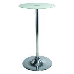 Table snack FLASHY Ø60 verre