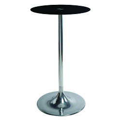 Table snack FLASHY Ø80 verre