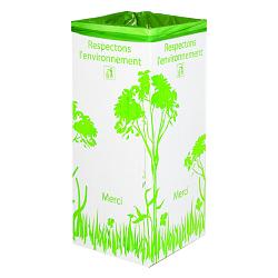 Support poubelle carton