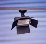 Projecteurs halogene 300 W sur patere