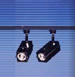 Rail de 2 projecteurs basse tension 50 W