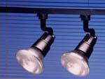 Rail de 2 projecteurs 120 W
