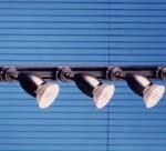 Rail de 3 projecteurs PAR 20 / 75 W
