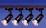 Rail de 4 projecteurs 100 W