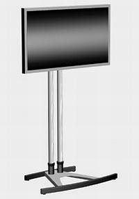 Ecran LCD multimédia sur pied