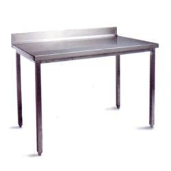 Table adossée