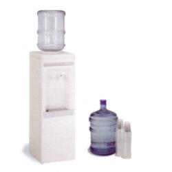 Fontaine a eau froide et temperee<br>avec 2 bouteilles