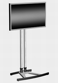 Ecran LCD 42 pouces multimédia sur pied