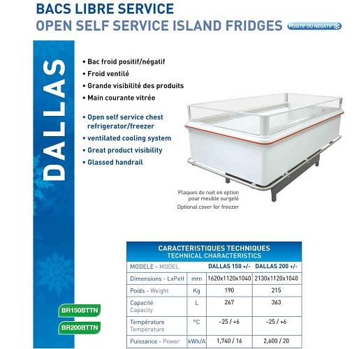 Bac libre service large