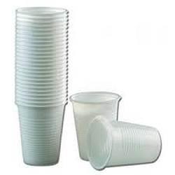 Gobelets plastiques transparent : 100 verres